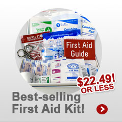 Bestselling First Aid Kit. Both Home and Business Use. $19.99 or less. Buy Now!