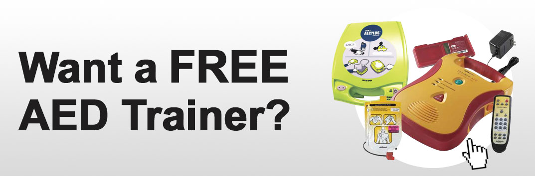 Want a FREE AED Trainer?