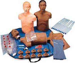 Adam and David Simulaids CPR Training Manikins