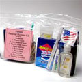 Various different Personal Hygiene Kits, Sanitizers, Port-A-Potty Chemicals, Tissue, Toilet Paper & Solar Shower Units.