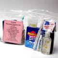 Various different Personal Hygiene Kits, Sanitizers, Port-A-Potty Chemicals, Tissue, Toilet Paper & Solar Shower Units.