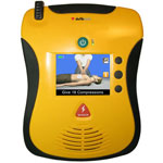 Image of an AED machine.