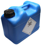Image of a container filled with toxic poison.