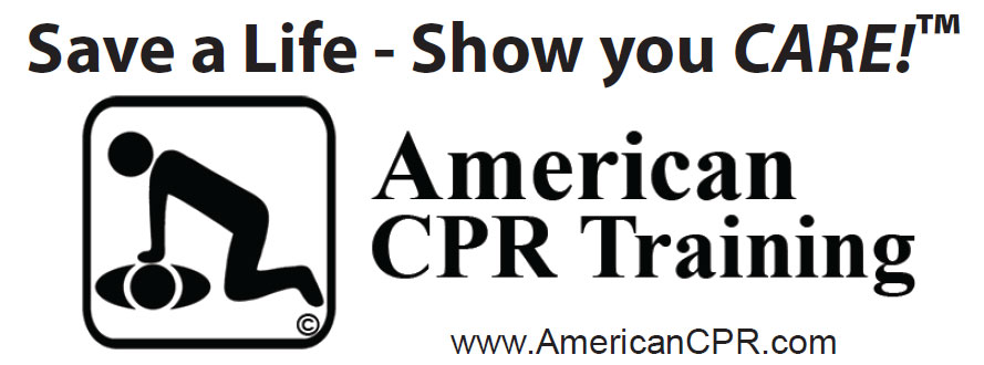 American CPR Training graphic reading: Save a Life - Show you CARE!