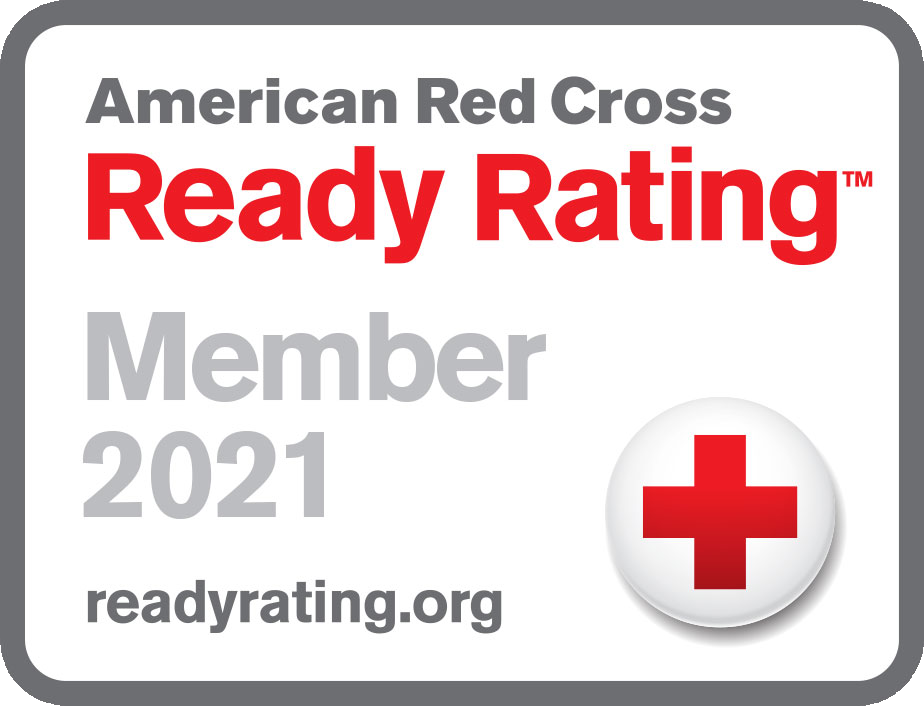American Red Cross Ready Rating Seal 2021